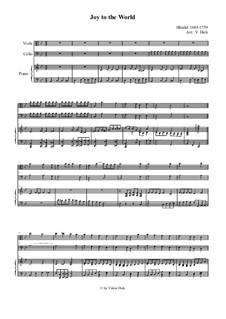 Радуйся мир: Для альта, виолончели и фортепиано by Георг Фридрих Гендель