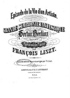 Фантастическая симфония, H.48 Op.14: Части I-III, для фортепиано by Гектор Берлиоз