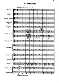 Испанское каприччио, Op.34: Часть II by Николай Римский-Корсаков
