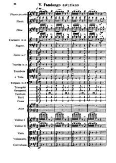 Испанское каприччио, Op.34: Часть V by Николай Римский-Корсаков