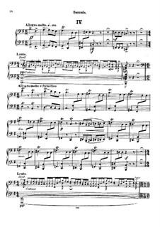 Все части: Часть IV, для фортепиано в четыре руки by Николай Римский-Корсаков