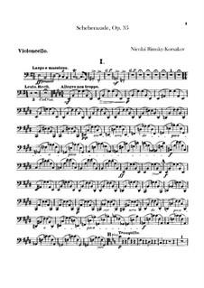Партии: Партия виолончелей by Николай Римский-Корсаков