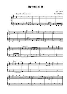 Прелюдия и фуга No.2: Прелюдия и фуга No.2 by Юнус Блягоз