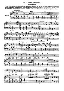 Севильский цирюльник: No.1-5 для солистов, хора и фортепиано by Джоаккино Россини