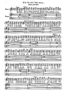 Севильский цирюльник: No.6-10 для солистов, хора и фортепиано by Джоаккино Россини