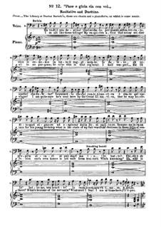 Севильский цирюльник: No.12-15 для солистов, хора и фортепиано by Джоаккино Россини