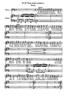 Севильский цирюльник: No.19-20 для солистов, хора и фортепиано by Джоаккино Россини