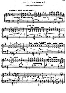 Страстное признание, TH 148: Для фортепиано by Петр Чайковский