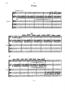 Мазепа, TH 7: Действие I, No.4b Гопак by Петр Чайковский