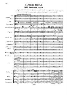 Мазепа, TH 7: Действие II, No.13 Народные сцены by Петр Чайковский