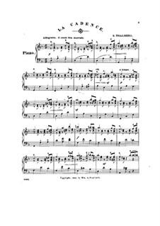 Six Pieces, Op.36: No.1 La cadence (in D Minor) by Сигизмунд Тальберг