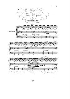 Six Pieces, Op.36: No.3 Mi manca la voce from 'Moïse' by Rossini by Сигизмунд Тальберг