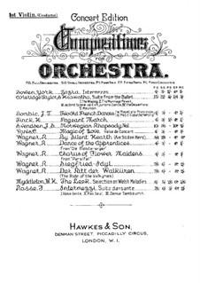 La verbena de la Paloma. Selection: Скрипка I (conductor) by Томас Бретон