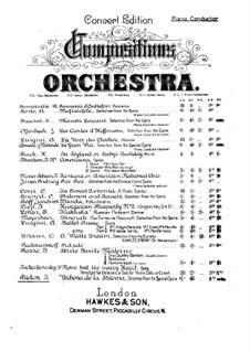 La verbena de la Paloma. Selection: Piano conductor by Томас Бретон