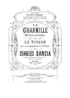La charmille, Op.135: La charmille by Шарль Данкла