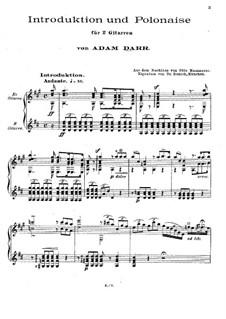 Две пьесы: No.2 Интродукция и полонез by Адам Дарр