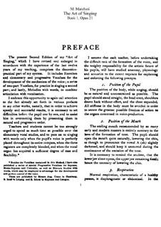 Искусство пения, Op.21: Сборник by Матильда Маркези