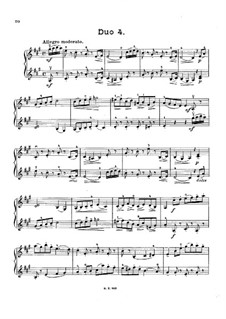 Двенадцать маленьких дуэтов для двух скрипок, Op.38: Дуэт No.4 by Жак-Фереол Мазас