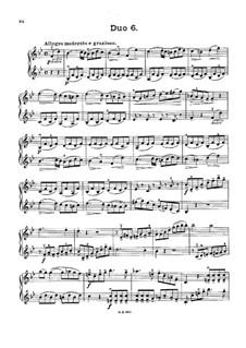 Двенадцать маленьких дуэтов для двух скрипок, Op.38: Дуэт No.6 by Жак-Фереол Мазас