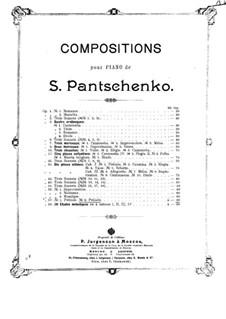 Две прелюдии, Op.57: No.2 Прелюдия ре минор by Семён Панченко