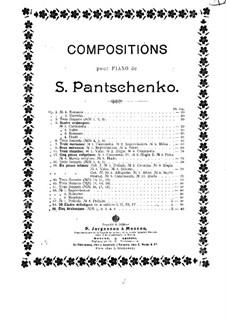 Пять арабесок, Op.59: Пять арабесок by Семён Панченко