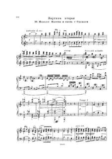 Мазепа, TH 7: Действие II, No.10-12 – клавир с вокальной партией by Петр Чайковский