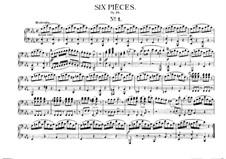 Шесть пьес для фортепиано в четыре руки, J.81-86 Op.10: Пьеса No.1 by Карл Мария фон Вебер