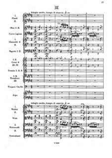 Симфония No.3 ми-бемоль мажор, B.34 Op.10: Часть II by Антонин Дворжак