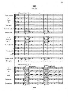 Симфония No.3 ми-бемоль мажор, B.34 Op.10: Часть III by Антонин Дворжак