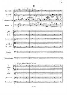 Концерт для виолончели с оркестром си минор, B.191 Op.104: Часть II by Антонин Дворжак