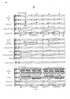Симфония No.2 си-бемоль мажор, B.12 Op.4: Часть II by Антонин Дворжак
