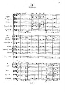 Симфония No.2 си-бемоль мажор, B.12 Op.4: Часть III by Антонин Дворжак