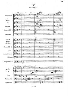 Симфония No.2 си-бемоль мажор, B.12 Op.4: Часть IV by Антонин Дворжак