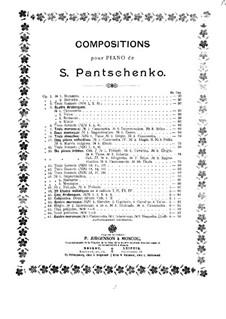 Пять прелюдий, Op.65: Пять прелюдий by Семён Панченко