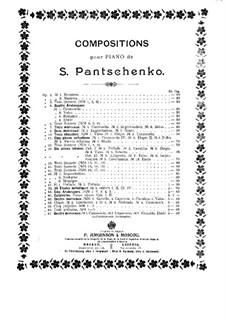 Четыре пьесы, Op.67: No.2 Интермеццо by Семён Панченко