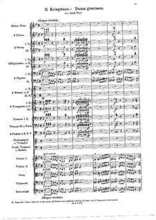 Geharnischte Suite (Armored Suite), BV 242 Op.34a: Военный танец by Ферруччо Бузони