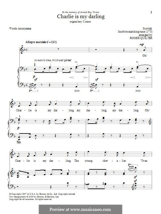 Charlie Is My Darling: Для голоса и фортепиано by folklore