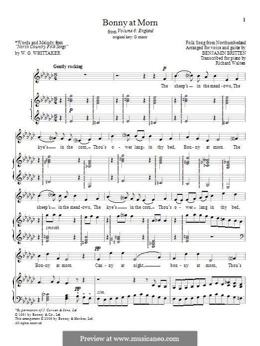 England: Для голоса и фортепиано by folklore