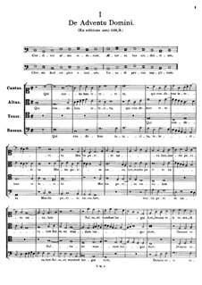De Adventu Domini. Conditor alme siderum: De Adventu Domini. Conditor alme siderum by Томас Луис де Виктория