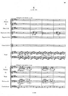 Легенды для оркестра, B.122 Op.59: No.6 до-диез минор by Антонин Дворжак