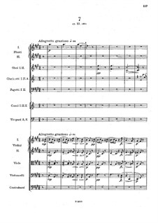 Легенды для оркестра, B.122 Op.59: No.7 ля мажор by Антонин Дворжак