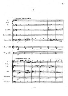 Легенды для оркестра, B.122 Op.59: No.9 ре мажор by Антонин Дворжак