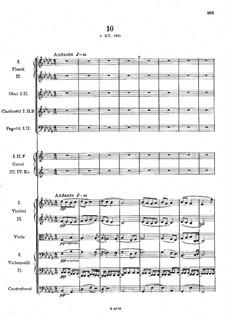 Легенды для оркестра, B.122 Op.59: No.10 си-бемоль минор by Антонин Дворжак