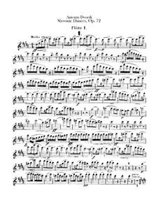 Весь цикл: Партии флейт by Антонин Дворжак