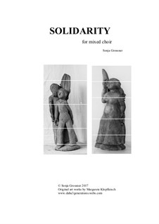 Solidarity: Для смешанного хора by Sonja Grossner