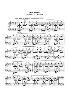Фантастические пьесы, Op.12: No.1 Des Abends (In the Evening) by Роберт Шуман