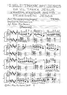 Eg vil takka Jesus (I Will Thank My Jesus): Eg vil takka Jesus (I Will Thank My Jesus) by folklore