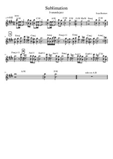 Sublimation, Op.1: Sublimation by Ivanandajazz