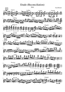 Etude Reconciliation, Op.1: Etude Reconciliation by Ivanandajazz