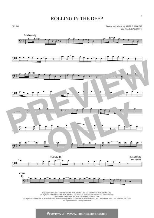 Vocal-instrumental version: Для виолончели by Adele, Paul Epworth